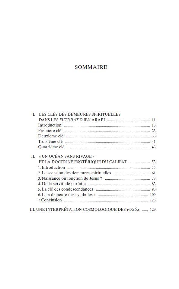 SOMMAIRE ETUDES T2